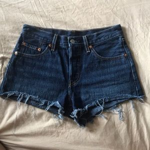 Brand new 501 Levi's hand painted shorts